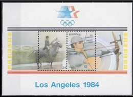 1984Belgium2173-2174/B541984 Olympiad Los Angeles - Estate 1984: Los Angeles