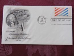 USA 1982 FDC Cover Washington - U.S. - Netherlands Treaty - John Adams - Stati Uniti