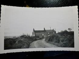 PHOTO ORIGINALE _ VINTAGE SNAPSHOT : MAISON VIEILLE De 300 ANS _ ROYAUME UNI _ 1957 - Places