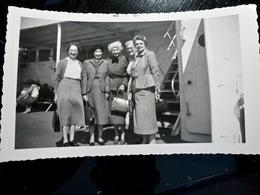 PHOTO ORIGINALE _ VINTAGE SNAPSHOT : CROISIERE _ PAQUEBOT _ UNITED STATES _ 1957 - Barche