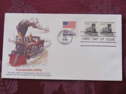 USA 1982 FDC Cover Chicago - Train Locomotive - United States