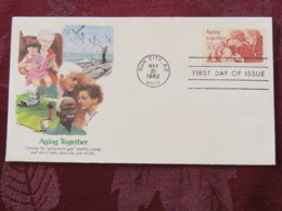 USA 1982 FDC Cover Sun City - Aging Together - Etats-Unis