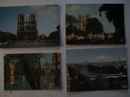DT 75 LOT 4 CPA CP CPSM 4 EME ARRT  CATHEDRALE NOTRE DAME DE PARIS Th Religion Eglise - Arrondissement: 04