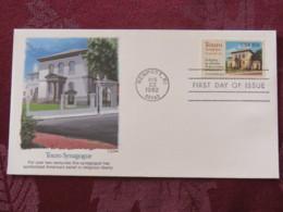 USA 1982 FDC Cover Newport - Touro Synagogue - Etats-Unis