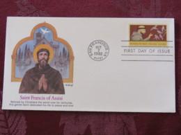 USA 1982 FDC Cover San Francisco - Saint Francis Of Assisi - Birds - Stati Uniti