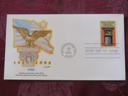 USA 1984 FDC Cover Washington - FDIC - Federal Deposit Insurance Corporation - Stati Uniti