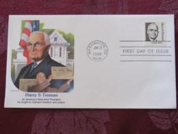 USA 1984 FDC Cover Washington - Henry S. Truman - Stati Uniti