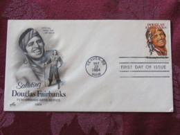 USA 1984 FDC Cover Denver - Douglas Fairbanks - Cinema Movie - Stati Uniti