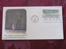 USA 1984 FDC Cover Washington - Vietnam Veterans Memorial - Covers & Documents