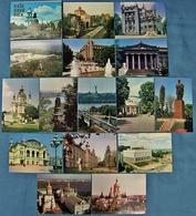 15 X Kiev / Kiew / Київ  -  Ansichtskarten Ca. 1980 - Ukraine