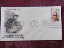 USA 1987 FDC Cover USPS CAPEX Toronto Canada - American Wildlife - River Otter - Etats-Unis