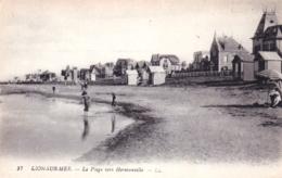 14 - Calvados -  LION Sur MER -  La Plage Vers Hermanville - France