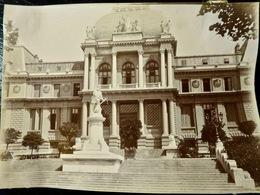 PHOTO ORIGINALE _ VINTAGE SNAPSHOT : TRIBUNAL FEDERAL _ LAUSANNE _ SUISSE _ CIRCA 1890 - Photographs