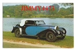 "CPA POST CARD - 1936 BUGATTI  "" 57 "" Cabriolet Décapotable "" Stelvio "" - Passenger Cars"