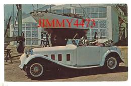 CPA POST CARD - 1932 DELAGE  D8-S - Décapotable 2 Portes - Carrosserie HENRI CHAPRON - Passenger Cars