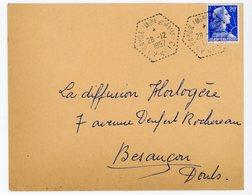 MEURTHE ET MOSELLE 1958 BAYON (MTHE ET MELLE) C.P. N°12 CORRESPONDANT POSTAL AUTOMOBILE - Marcophilie (Lettres)