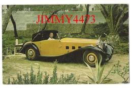 CPA POST CARD - 1933 DELAGE  D8.5 - Voitures De Tourisme