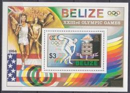 1984Belize751/B631984 Olympiad Los Angeles5,00 € - Summer 1984: Los Angeles