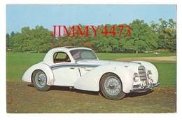 CPA POST CARD - 1939 DELAHAYE  V-12 Coupé - Carrosserie HENRI CHAPRON - Passenger Cars