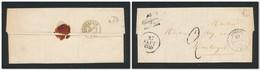 FRANCE  Loiret - Cursive Changy-les-Bois (43) Cachet 13 LORRIS 27/9/1849 - Texte Complet - Postmark Collection (Covers)