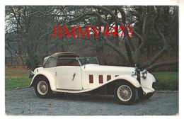 CPA POST CARD - 1933  D8.5 Cabriolet Décapotable - Carrosserie HENRI CHAPRON - Passenger Cars