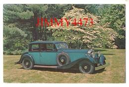 CPA POST CARD - 1932 HISPANO-SUIZA  V-12, 54 CV  2/4 Portes - Carrosserie VAN VOOREN - Passenger Cars