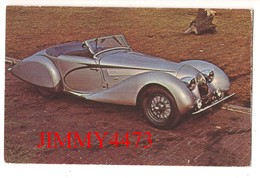 CPA POST CARD - 1937 TALBOT-LAGO  Type 150-SS - Roadster 2 Pl. - Carrosserie FIGONI-FALASCHI - Passenger Cars
