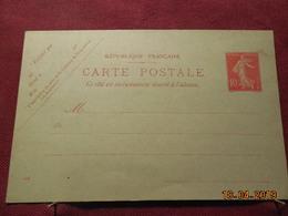 Carte Entier Postal - Entiers Postaux