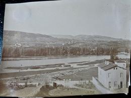 PHOTO ORIGINALE _ VINTAGE SNAPSHOT : FLEURIEU Sur SAONE Près De LYON _ CIRCA 1890 - Photos