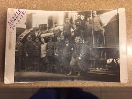 Postkaart 14/7/1915 Abeele Station , La Gare D'Abeele Poperinghe - Poperinge