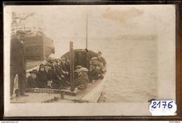 2176  FRD13 AK PC CARTE PHOTO MARSEILLE BATEAU NAVETTE POUR CHATEAU D IF NC TTB - Constantine