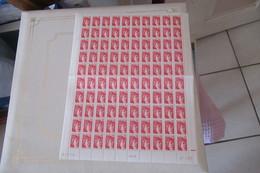 France  1977  Cat Yt N° 1972   FEUILLE Entière  X  100  N** MNH - Feuilles Complètes