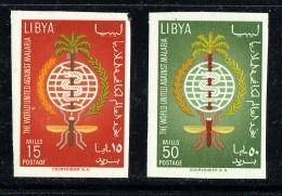 1962  Lutte Contre Le Paludisme (Malaria)  Série Complète Non-dentelée  ** - Libyen