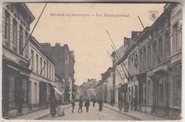 Berchem-bij-Antwerpen - Drij Koningenstraat - Geanimeerd - 1914 - Antwerpen