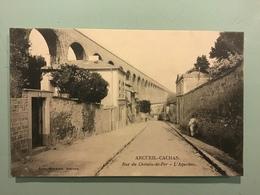 ARCUEIL-CACHAN. Rue Du Chemin De Fer - L' Aqueduc. - Arcueil