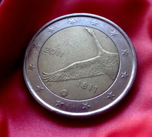 Finland 2011 - 2 Euro Commemorative - 200yrs Of The Bank Of Finland Coin  CIRCULATED  BIRD SWAN - Finland