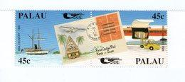 PALAU 1990 PACIFICA-BATEAUX-AVIONS-P OSTE  YVERT N°354/55 NEUF MNH** - Palau