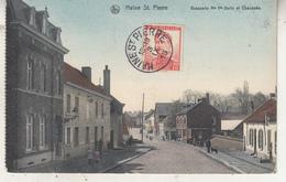 Haine St. Pierre - Brasserie Mme Vve Garin Et Chaussée - 1913 - Edit. Papeterie Moderne - Carte D' Un Carnet - La Louvière