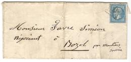 16609 - FERS FINS BATTUS - Storia Postale