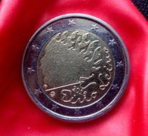 Finland 2016 - 2 Euro Comm - Finnish Writer & Lyricist - Eino Leino Coin  CIRCULATED - Finlandía