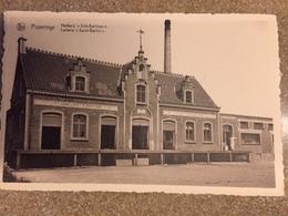 """Postkaart Poperinge Melkerij St Bertinus / Laiterie """" Saint-Bertin"""" - Poperinge"""