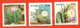 Brazil 1983.Cacti. Unused Stamps. - Cactusses