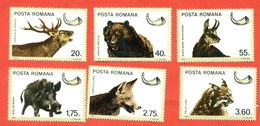 Romania 1976. Game Animals. Unused Stamps. - Stamps