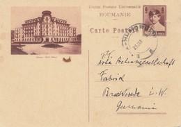 Rumänien: 1933: Ganzsache - Rumänien