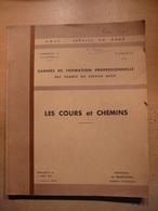 Cahier Formation Cadre Les Cours Et Chemin 1962 SNCF Train Cheminot Chemin De Fer - Chemin De Fer & Tramway