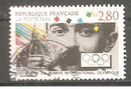 FRANCE 1994 Y T N ° 2889 Oblitéré - France