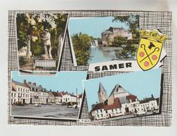 CPSM SAMER (Pas De Calais) - 4 Vues - Samer