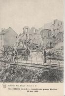 CORBEIL  Incendie Des Grands Moulins Mai 1890 - Corbeil Essonnes