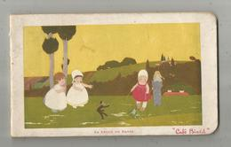 Calendrier 1 Er Trimestre 1914 , 175 X 105 , CAFE BIARD , Publicité : Byrrh, Dubonnet... 7 Scans , Frais Fr 4.55 E - Calendriers