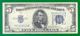 United States Fr#1654  $5 1934D  UNC - Silver Certificates (1928-1957)